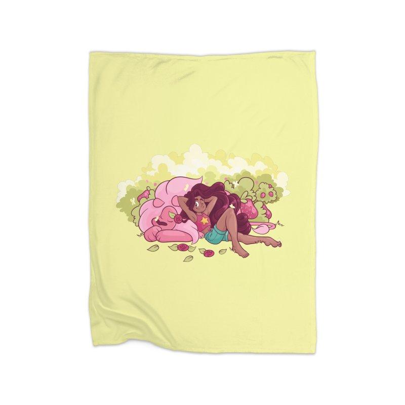 Stevonnie Home Fleece Blanket Blanket by AlePresser's Artist Shop