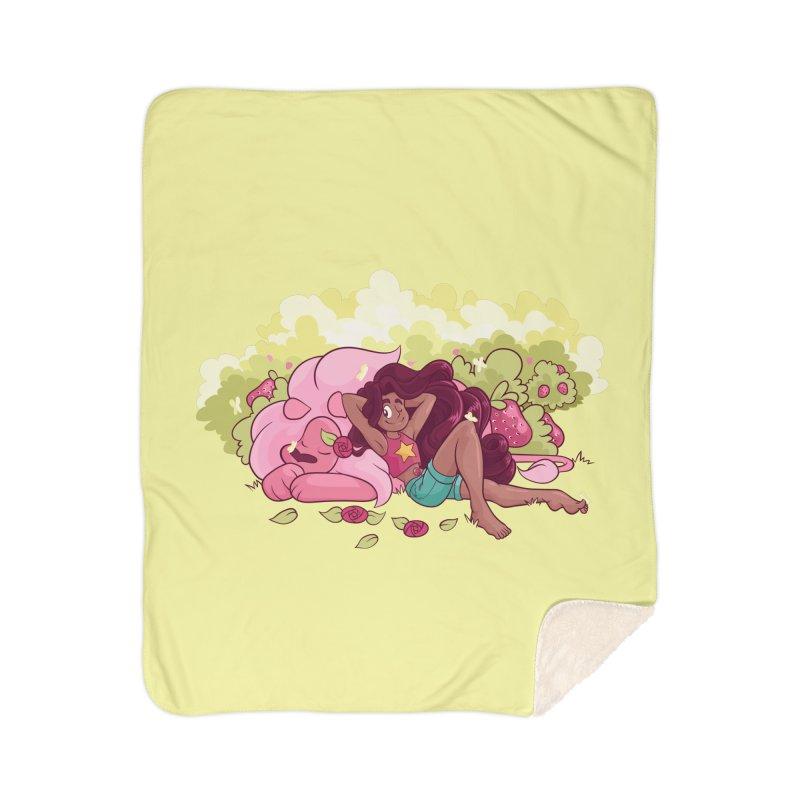 Stevonnie Home Sherpa Blanket Blanket by AlePresser's Artist Shop