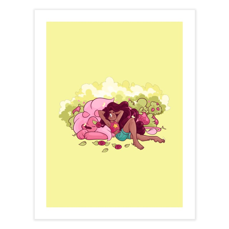 Stevonnie Home Fine Art Print by AlePresser's Artist Shop