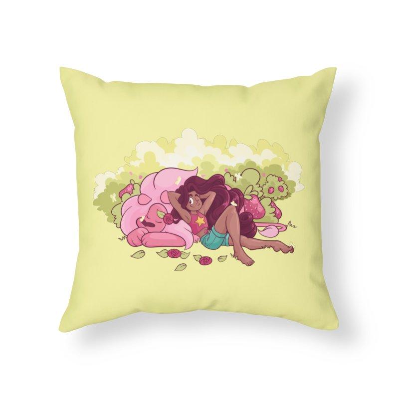 Stevonnie Home Throw Pillow by AlePresser's Artist Shop