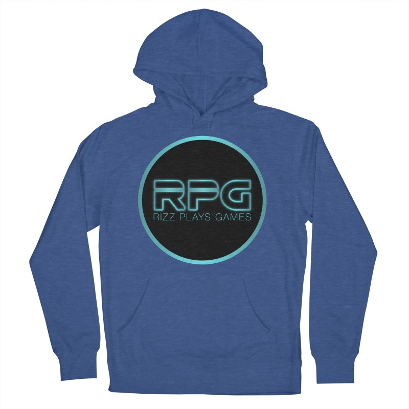 Rizz Plays Games Men's French Terry Pullover Hoody by Alexander Kahrs Merch