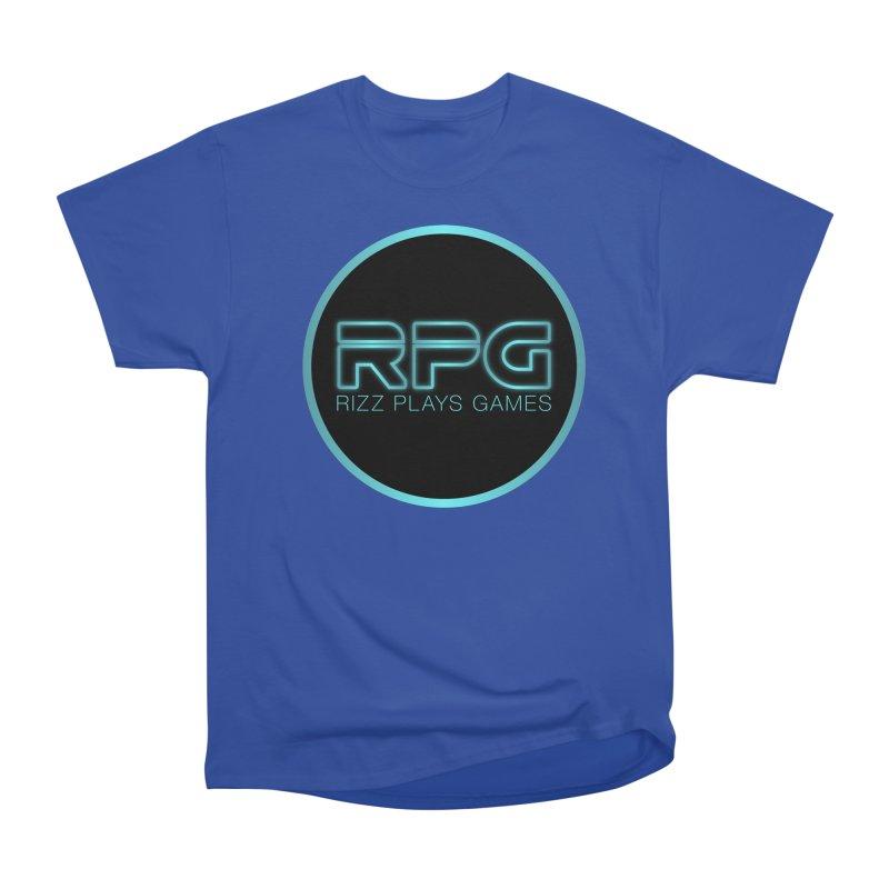 Rizz Plays Games Women's Heavyweight Unisex T-Shirt by Alexander Kahrs Merch