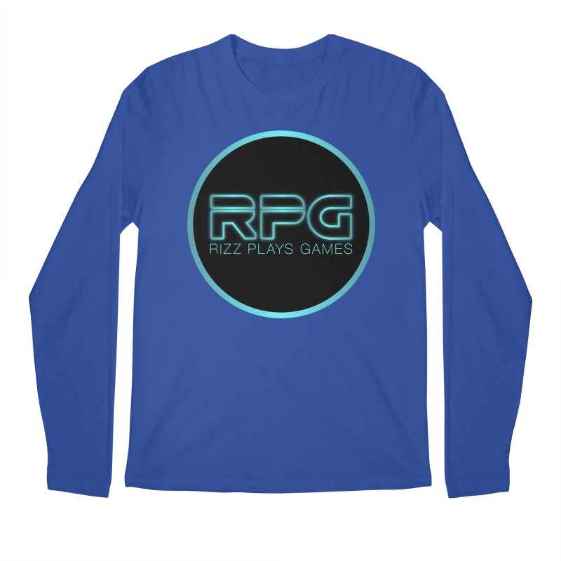 Rizz Plays Games Men's Regular Longsleeve T-Shirt by Alexander Kahrs Merch