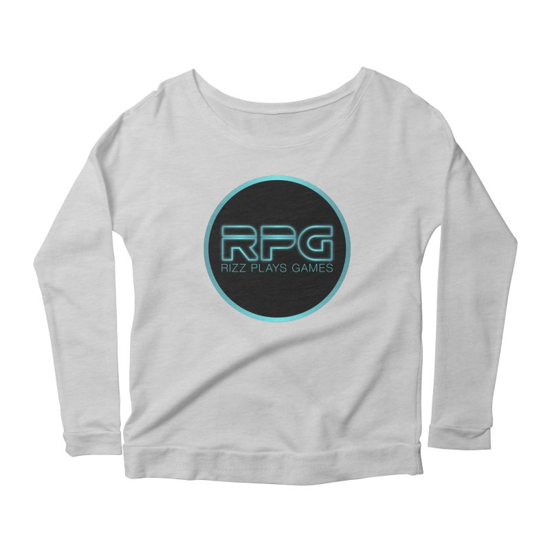 Rizz Plays Games Women's Longsleeve Scoopneck  by Alexander Kahrs Merch