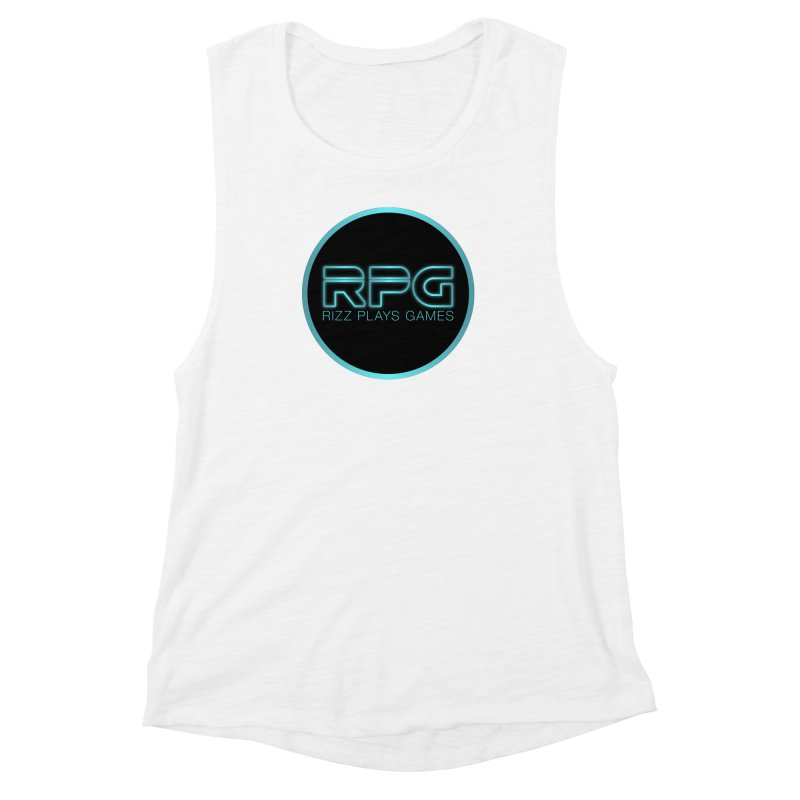 Rizz Plays Games Women's Muscle Tank by Alexander Kahrs Merch