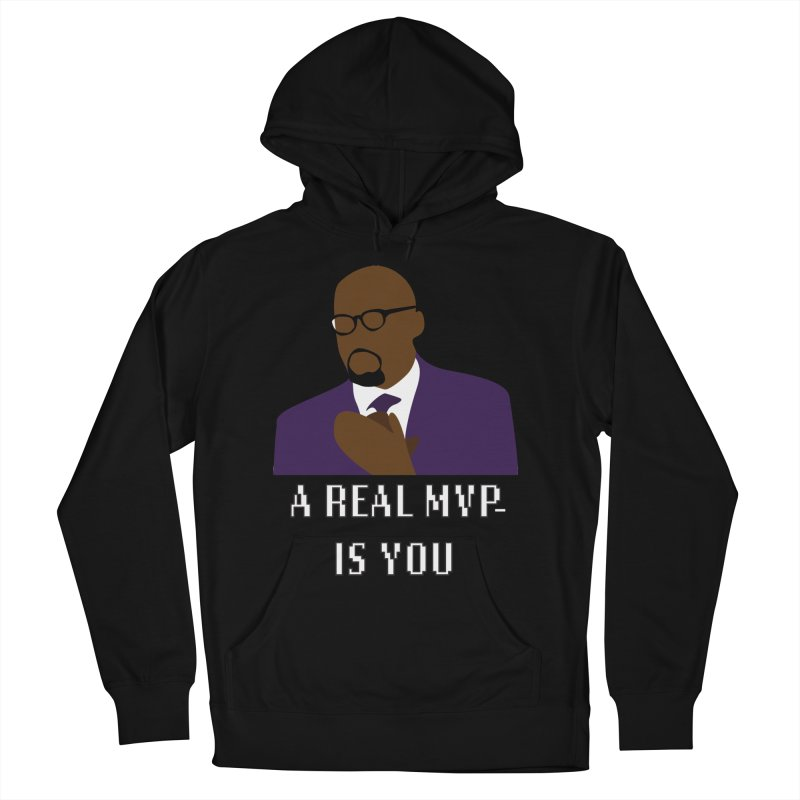 A Real MVP Is You Men's Pullover Hoody by Alexander Kahrs Merch