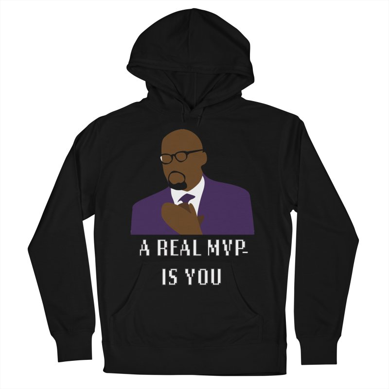 A Real MVP Is You Men's French Terry Pullover Hoody by Alexander Kahrs Merch