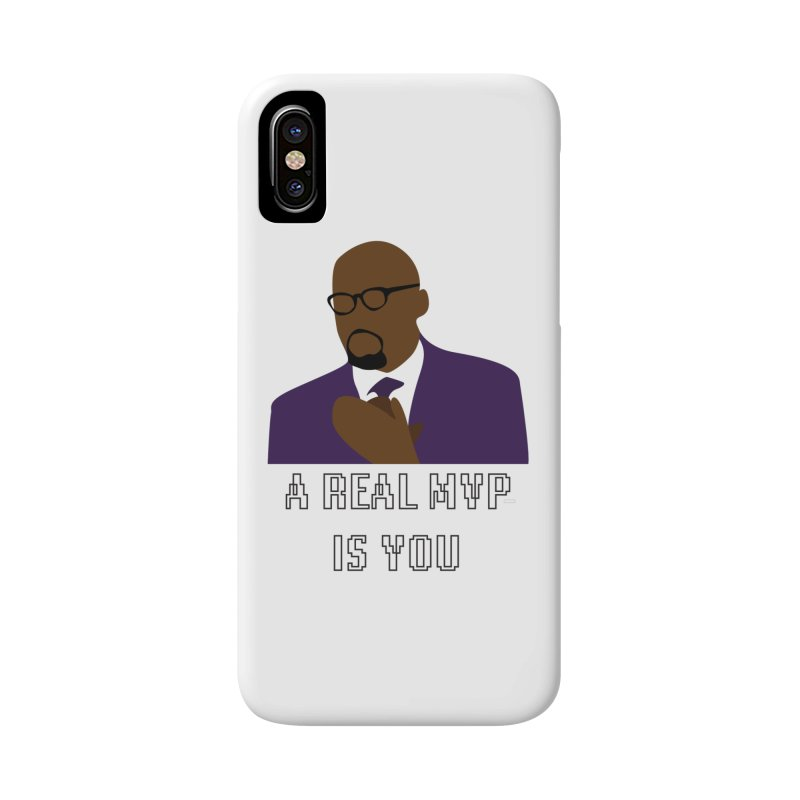 A Real MVP Is You Accessories Phone Case by Alexander Kahrs Merch