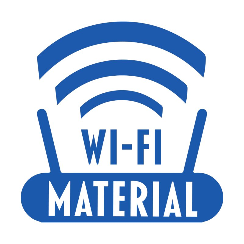 Wi-Fi Material by Alexander Kahrs Merch
