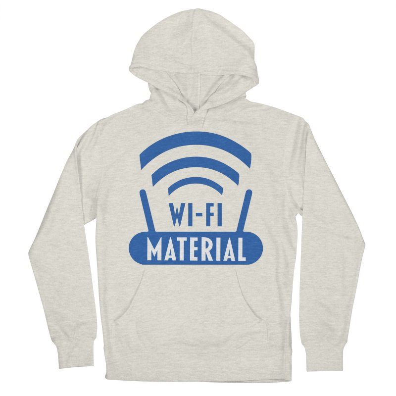 Wi-Fi Material Women's French Terry Pullover Hoody by Alexander Kahrs Merch