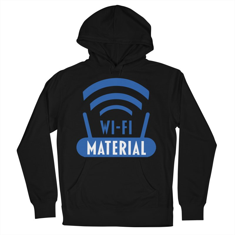 Wi-Fi Material Men's French Terry Pullover Hoody by Alexander Kahrs Merch