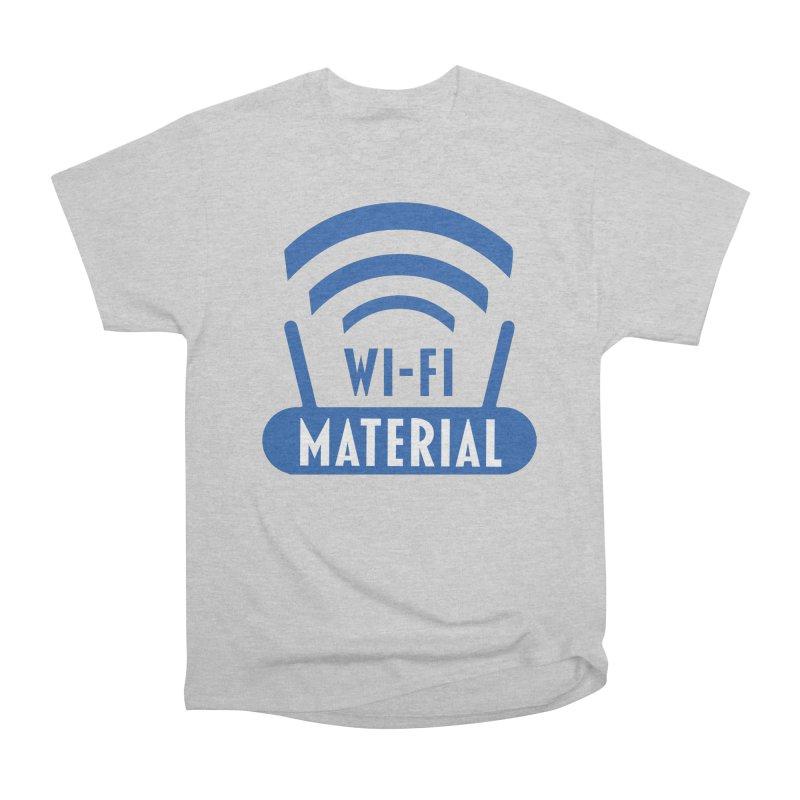Wi-Fi Material Women's Heavyweight Unisex T-Shirt by Alexander Kahrs Merch