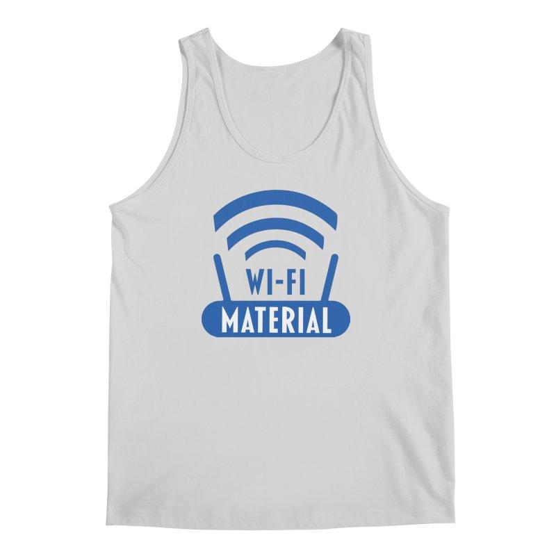Wi-Fi Material Men's Regular Tank by Alexander Kahrs Merch