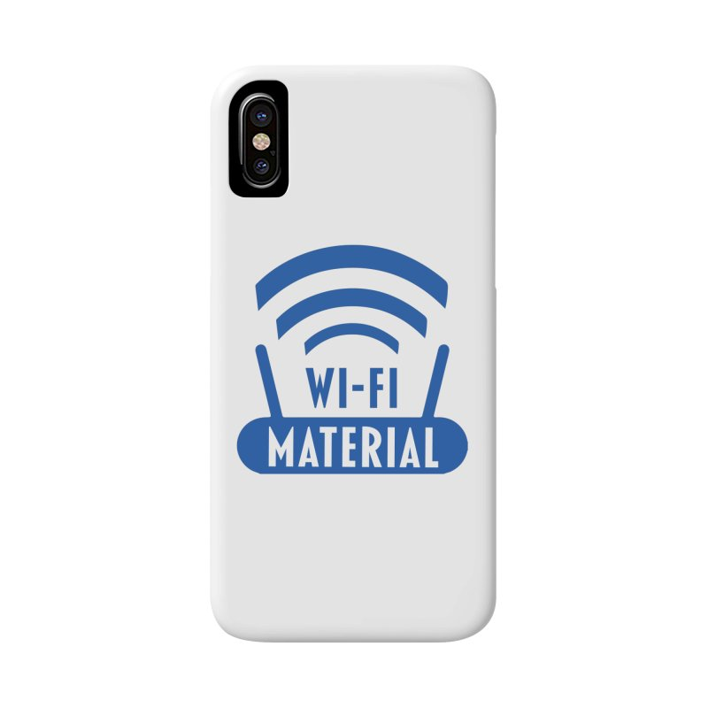 Wi-Fi Material Accessories Phone Case by Alexander Kahrs Merch