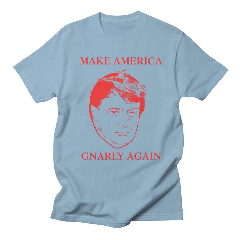 Gnarly Again Men's T-Shirt by alexanderkey's Artist Shop