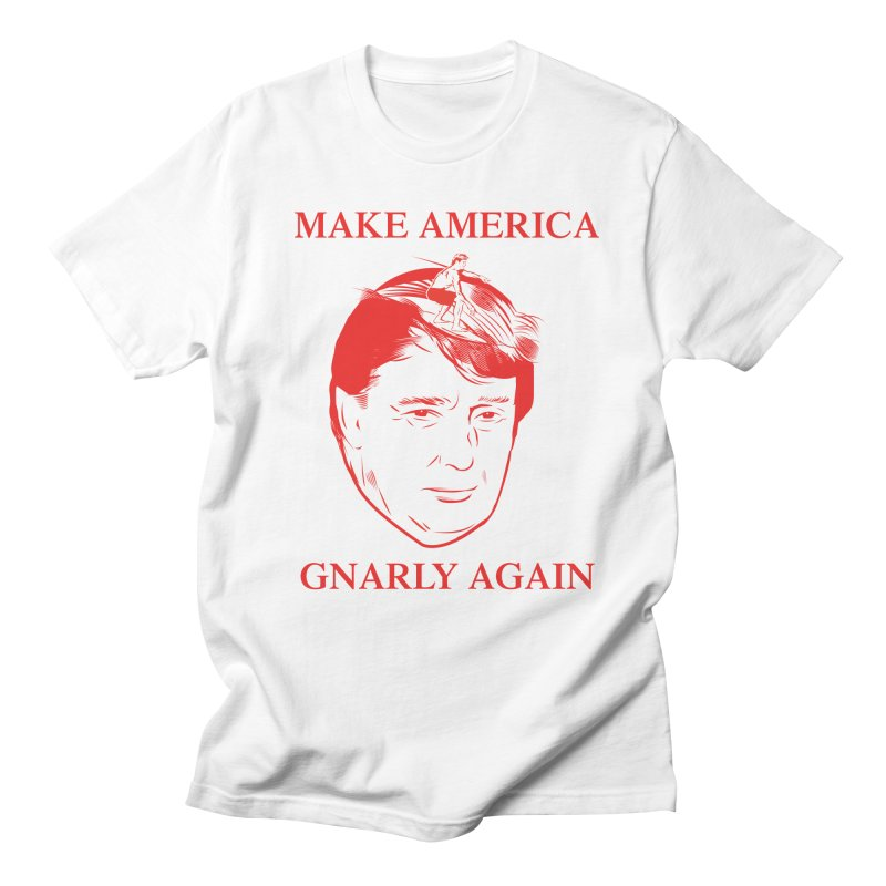 Gnarly Again Men's T-shirt by alexanderkey's Artist Shop