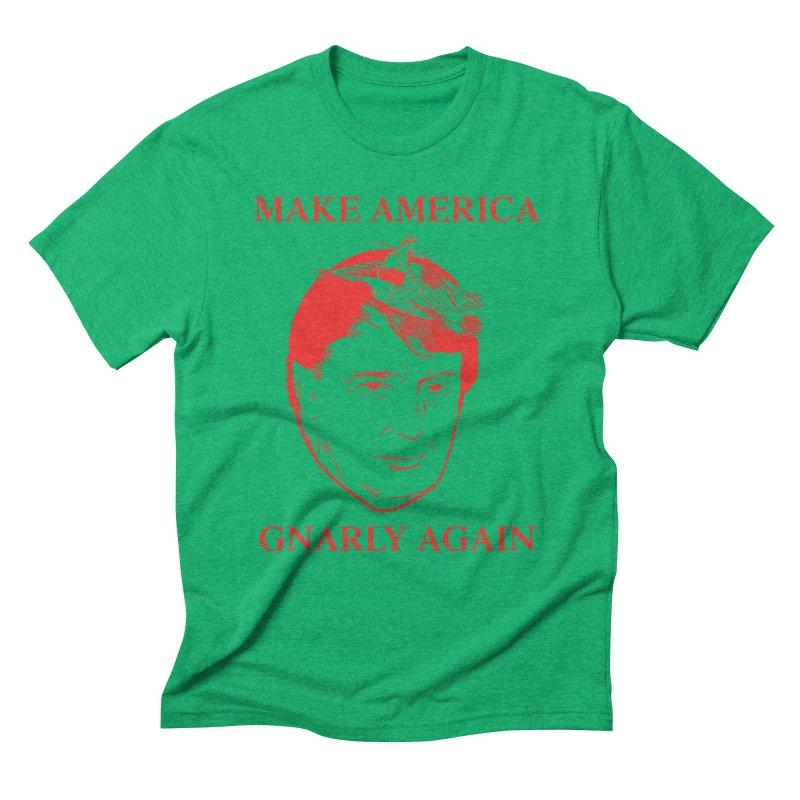 Gnarly Again Men's Triblend T-shirt by alexanderkey's Artist Shop