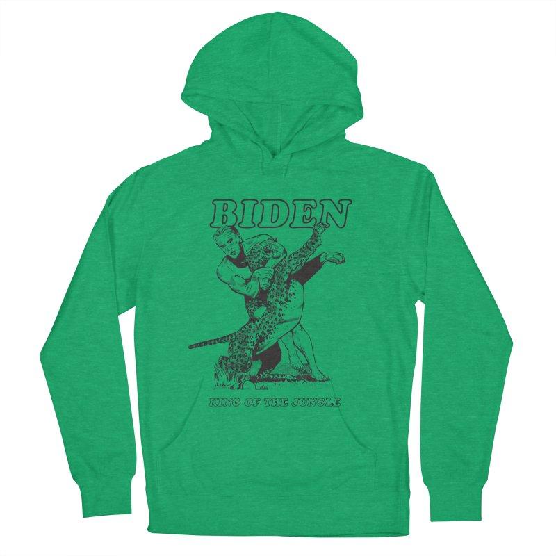 Biden: King of the Jungle Men's Pullover Hoody by alexanderkey's Artist Shop