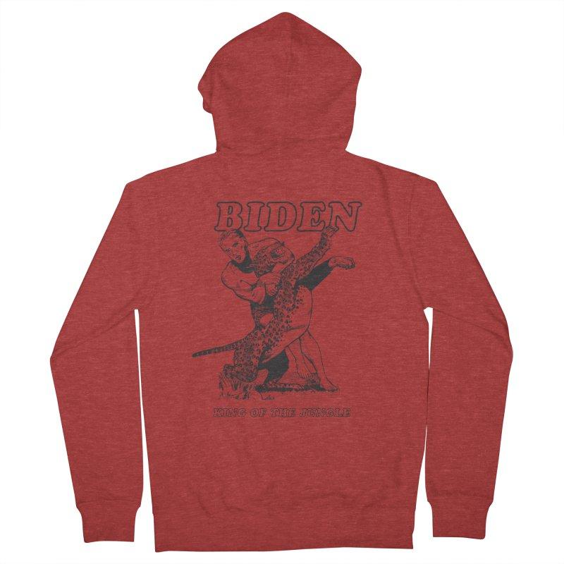 Biden: King of the Jungle Men's Zip-Up Hoody by alexanderkey's Artist Shop