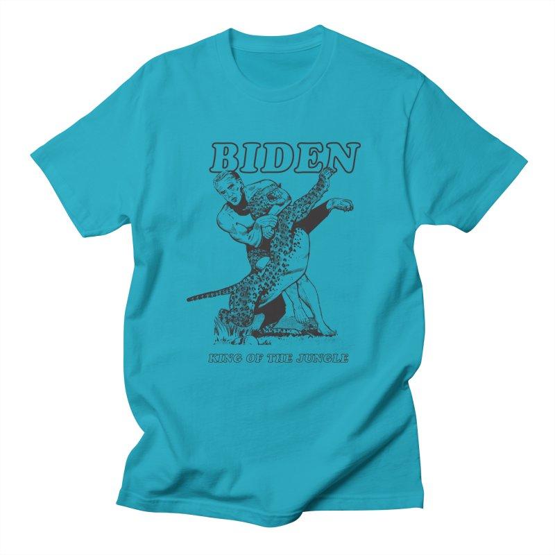 Biden: King of the Jungle Men's T-Shirt by alexanderkey's Artist Shop