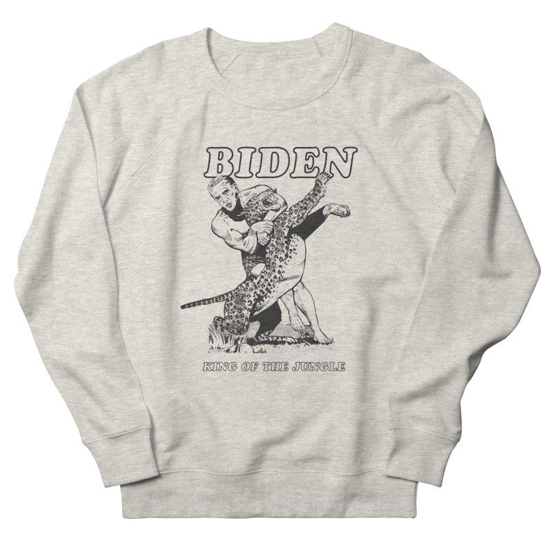 Biden: King of the Jungle Men's Sweatshirt by alexanderkey's Artist Shop