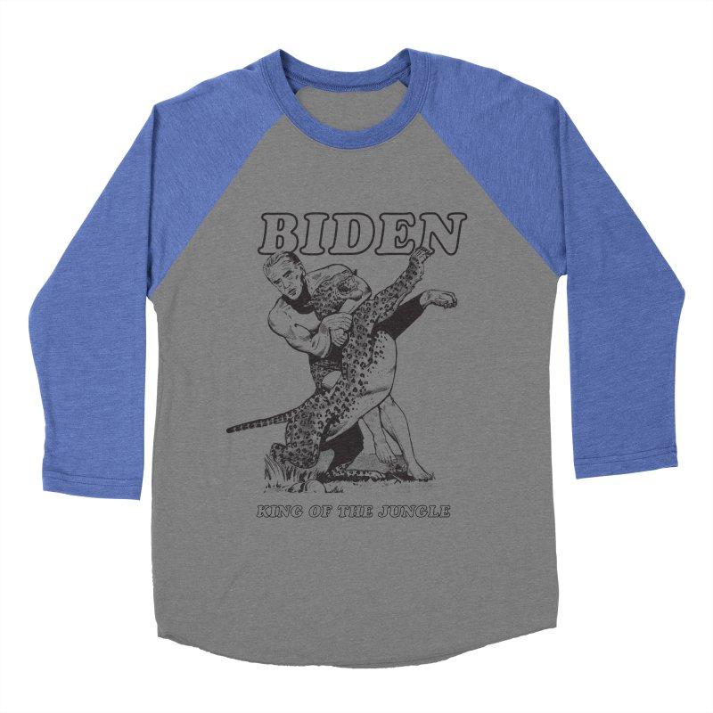 Biden: King of the Jungle Men's Baseball Triblend T-Shirt by alexanderkey's Artist Shop