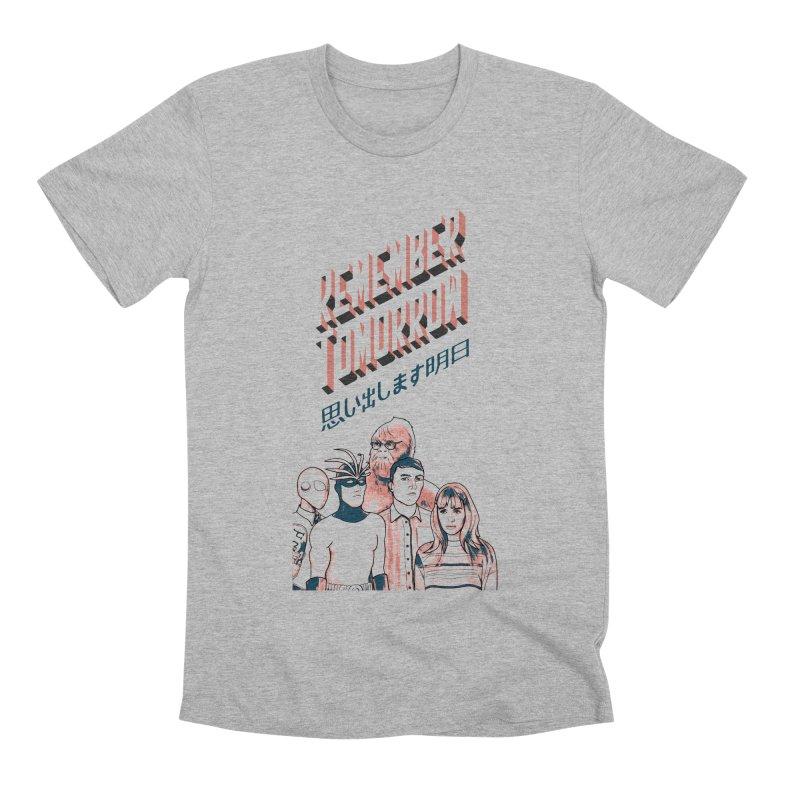 Remember Tomorrow Hello Men's Premium T-Shirt by alexaustindesign's Artist Shop
