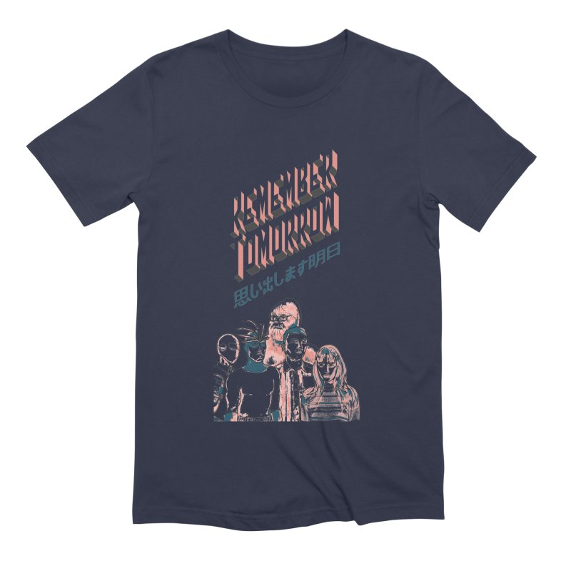 Remember Tomorrow Hello Men's Extra Soft T-Shirt by alexaustindesign's Artist Shop