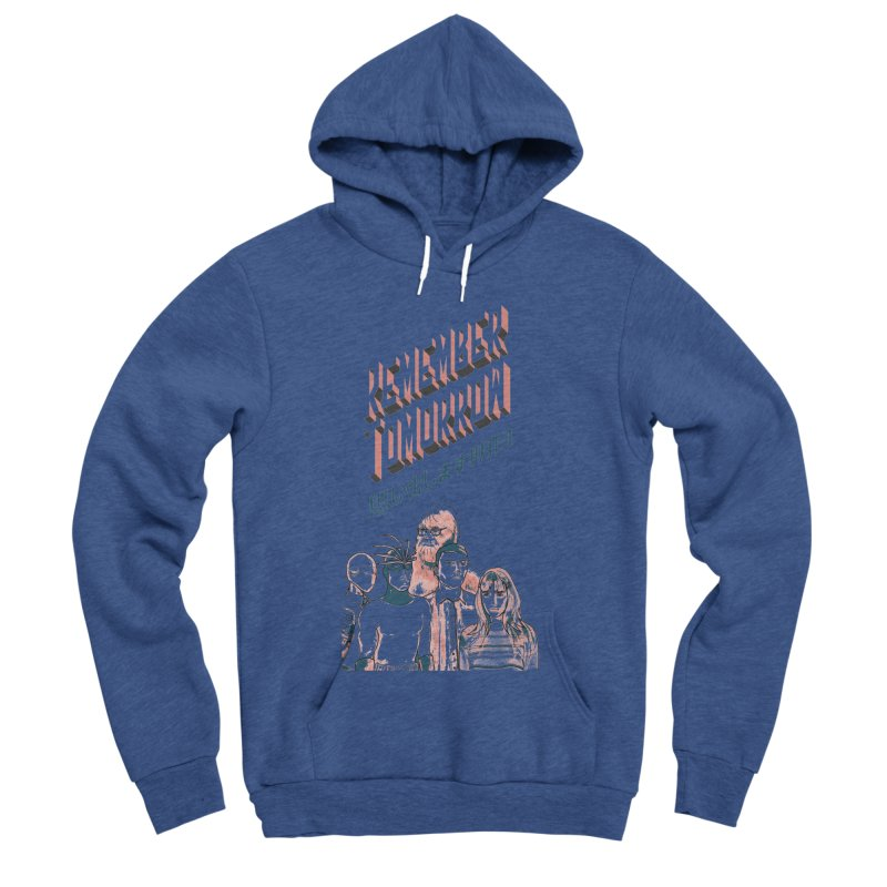 Remember Tomorrow Hello Men's Sponge Fleece Pullover Hoody by alexaustindesign's Artist Shop