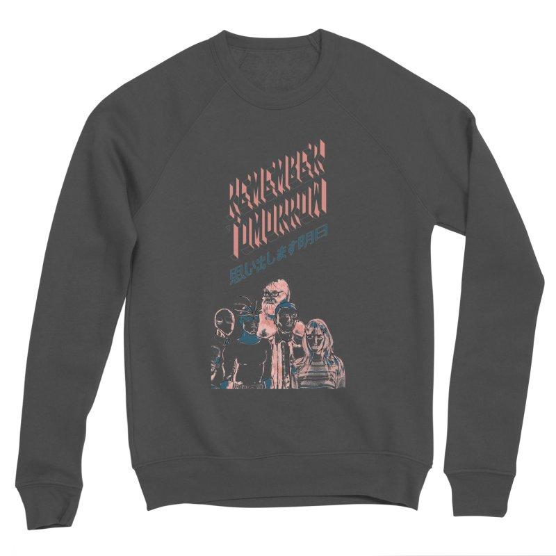 Remember Tomorrow Hello Men's Sponge Fleece Sweatshirt by alexaustindesign's Artist Shop