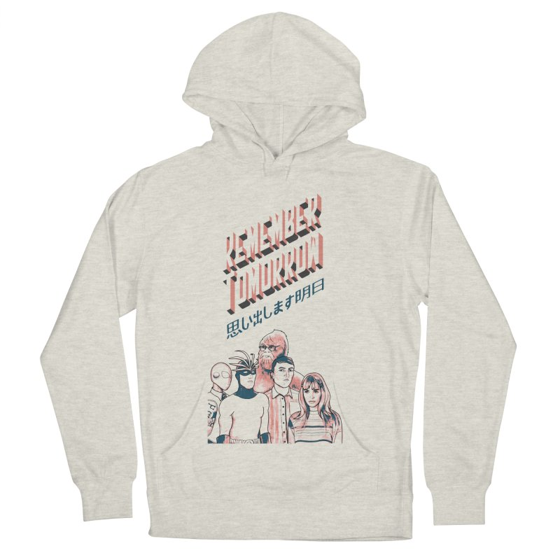 Remember Tomorrow Hello Women's French Terry Pullover Hoody by alexaustindesign's Artist Shop