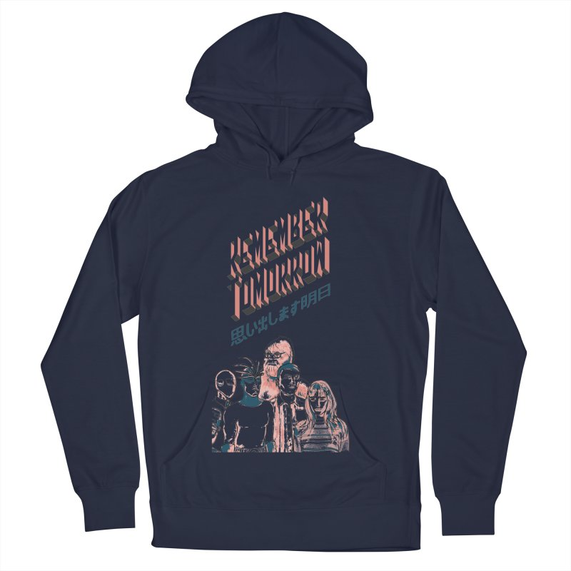 Remember Tomorrow Hello Men's French Terry Pullover Hoody by alexaustindesign's Artist Shop