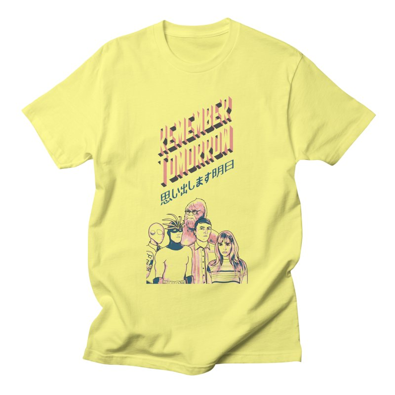 Remember Tomorrow Hello Men's Regular T-Shirt by alexaustindesign's Artist Shop