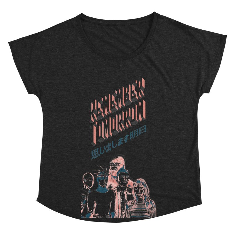 Remember Tomorrow Hello Women's Scoop Neck by alexaustindesign's Artist Shop