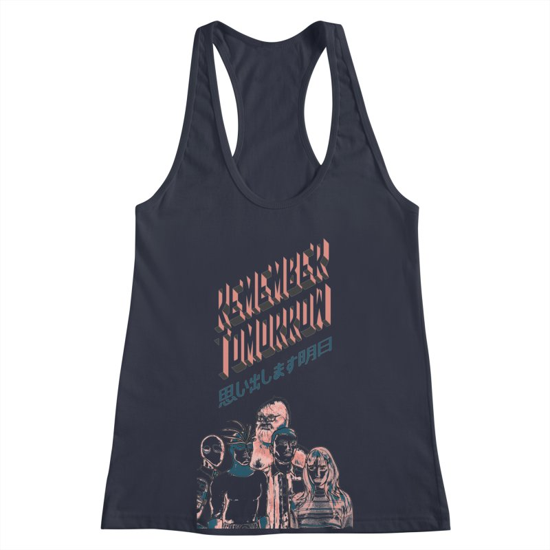 Remember Tomorrow Hello Women's Racerback Tank by alexaustindesign's Artist Shop
