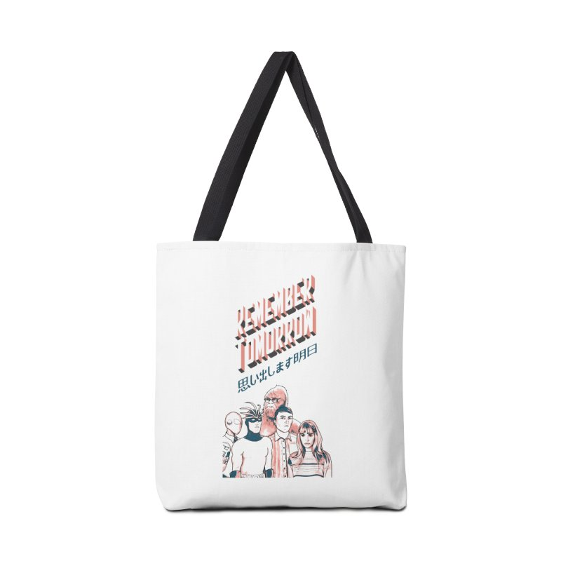 Remember Tomorrow Hello Accessories Tote Bag Bag by alexaustindesign's Artist Shop