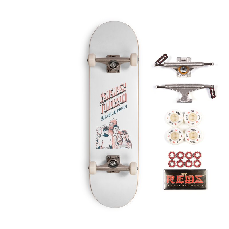 Remember Tomorrow Hello Accessories Complete - Pro Skateboard by alexaustindesign's Artist Shop