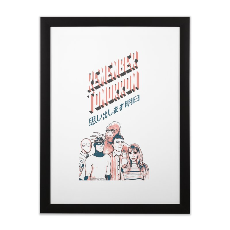 Remember Tomorrow Hello Home Framed Fine Art Print by alexaustindesign's Artist Shop