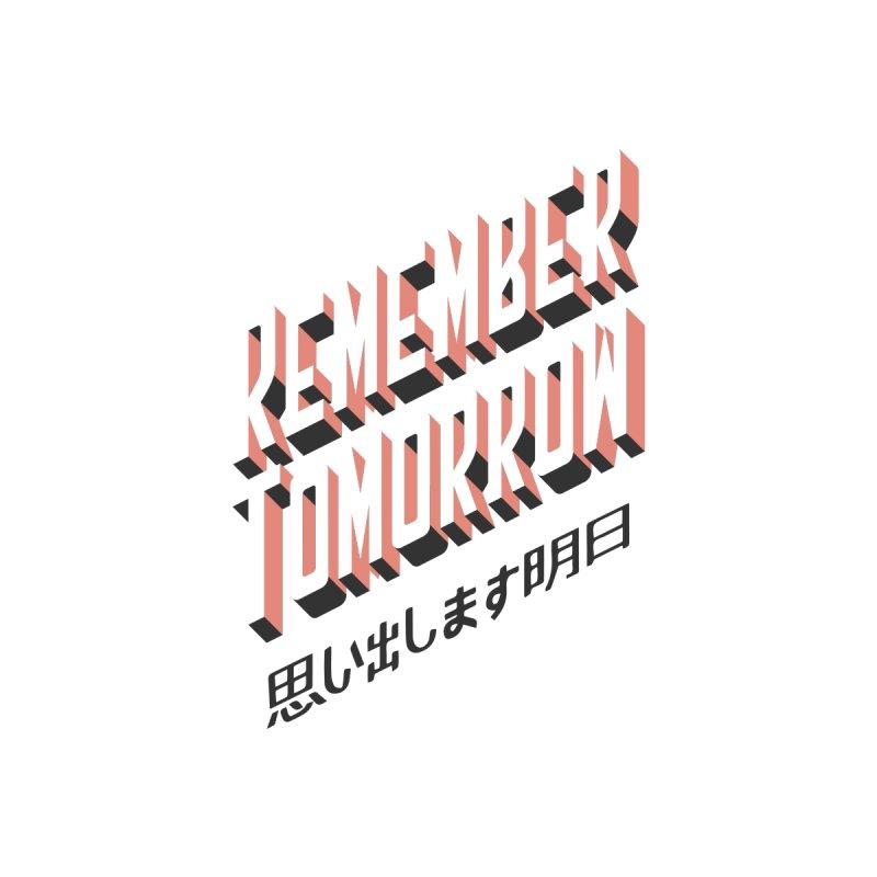 Remember Tomorrow Stories Kids T-Shirt by Alex Austin Design Shop