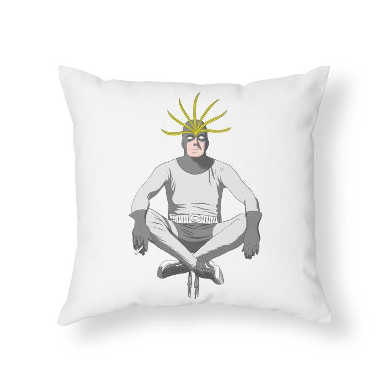 Mister Chron Home Throw Pillow by Alex Austin Design Shop