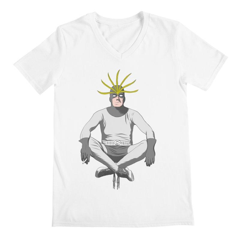 Mister Chron Men's V-Neck by Alex Austin Design Shop