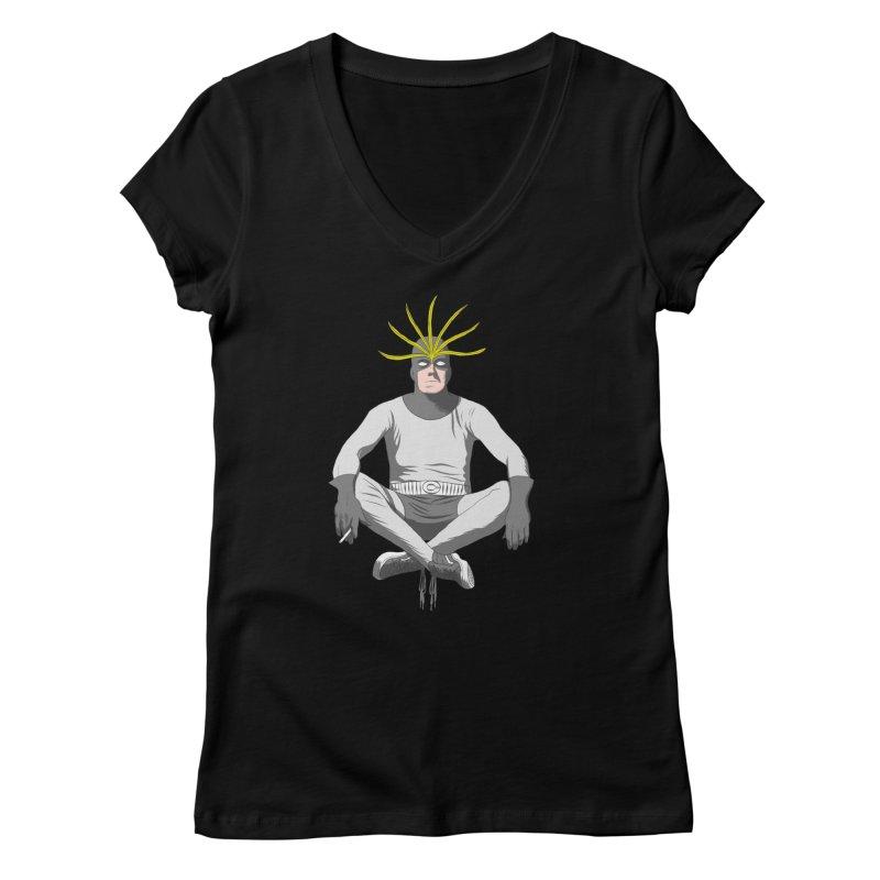 Mister Chron Women's V-Neck by Alex Austin Design Shop