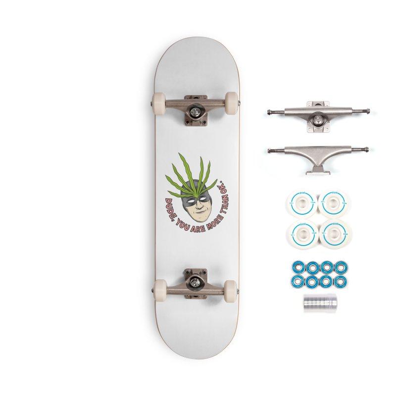 Mister Chron – Catch Phrase Accessories Skateboard by Alex Austin Design Shop