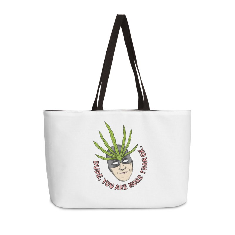 Mister Chron – Catch Phrase Accessories Bag by Alex Austin Design Shop