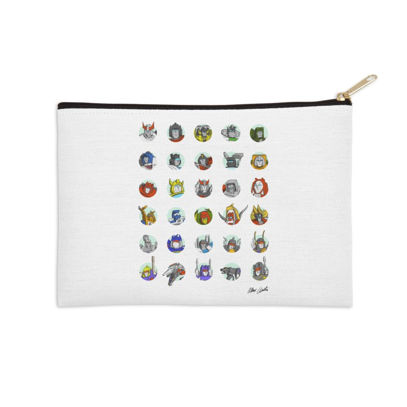 To All The Toys I Loved Before Accessories Zip Pouch by Alex Austin Design Shop