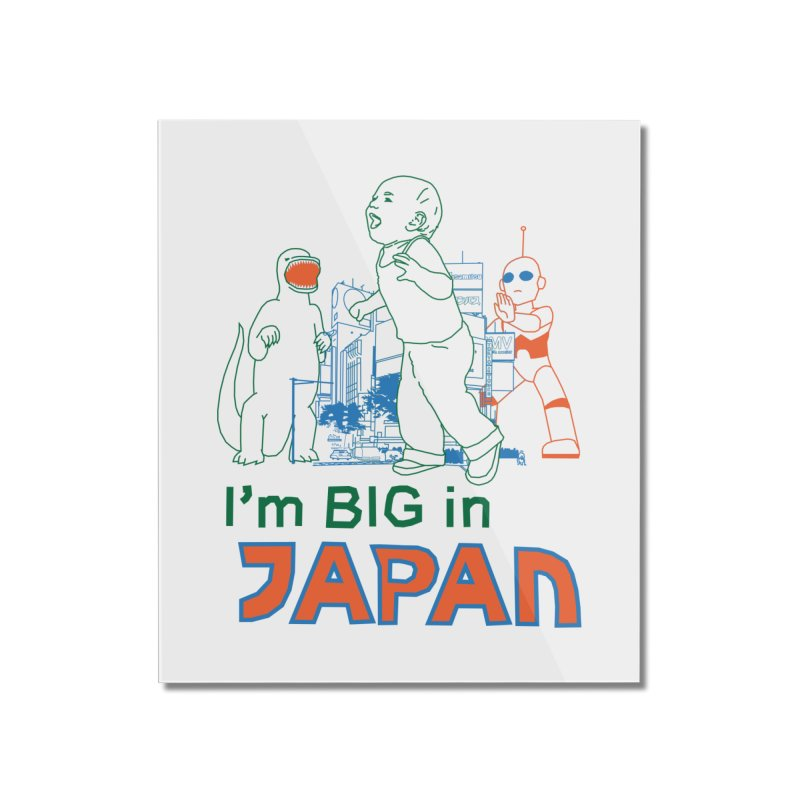 big in japan Home Mounted Acrylic Print by alexaustindesign's Artist Shop