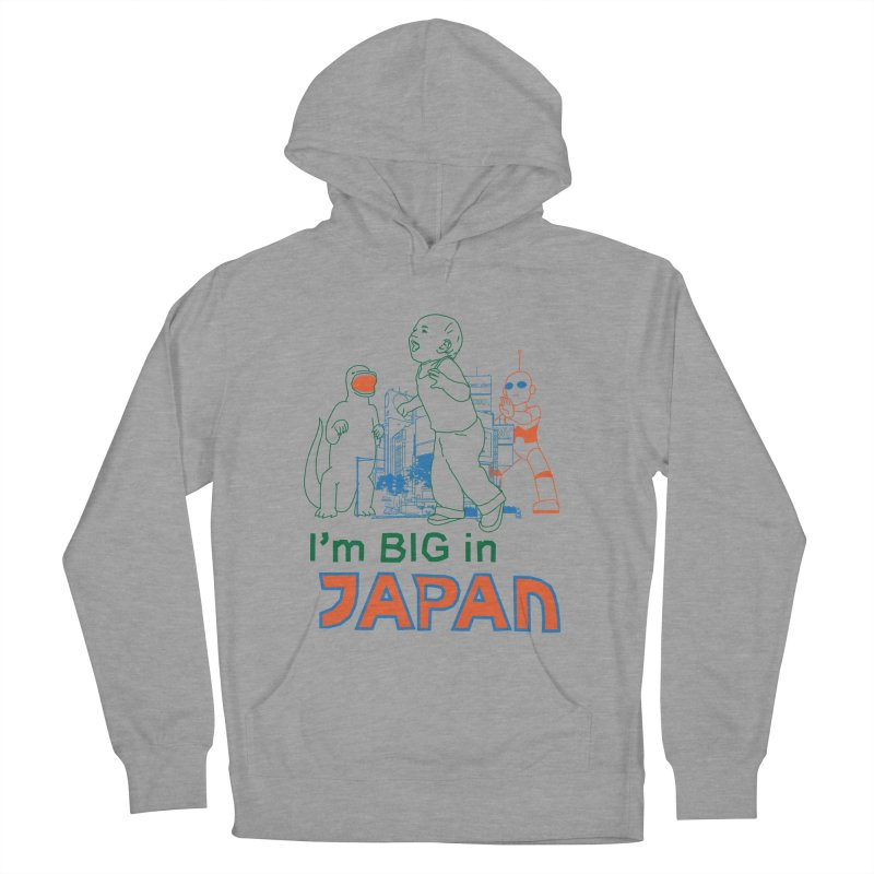 big in japan Men's French Terry Pullover Hoody by alexaustindesign's Artist Shop