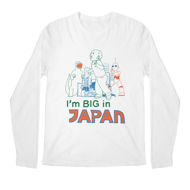 big in japan Men's Regular Longsleeve T-Shirt by alexaustindesign's Artist Shop