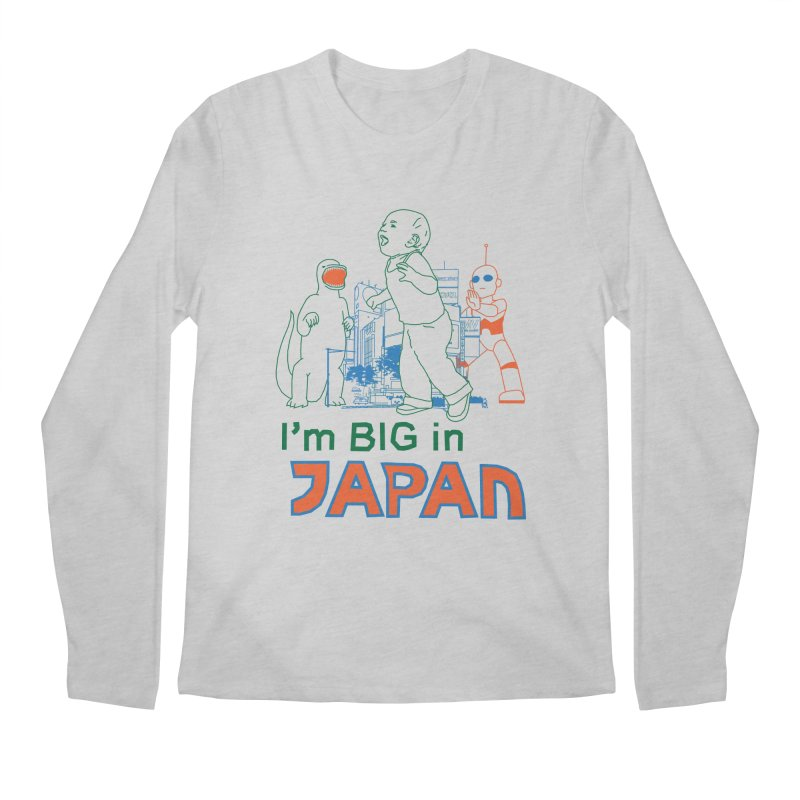 big in japan Men's Regular Longsleeve T-Shirt by alexaustindesign's Artist Shop