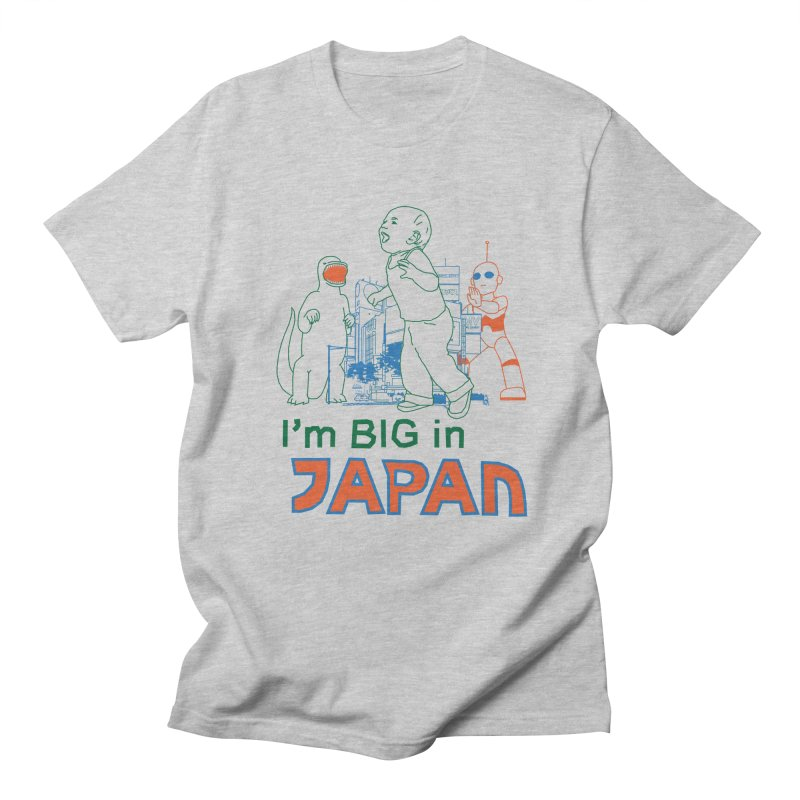 big in japan Men's Regular T-Shirt by alexaustindesign's Artist Shop